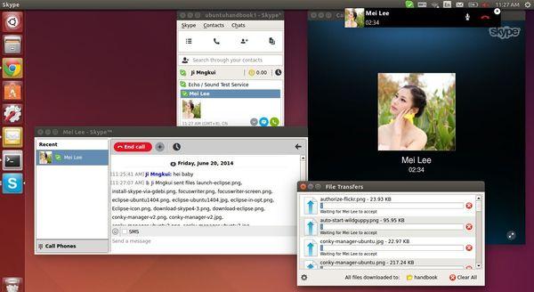 Skype 4.3 in Ubuntu 14.04