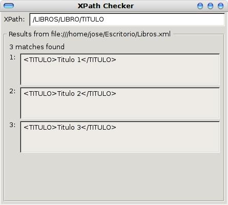 Dos extensiones de Firefox para trabajar con XPath