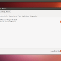 Ubuntu 13.04 - Privacy Setting