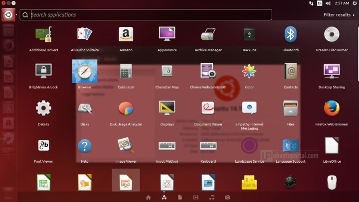 Ubuntu 14.10 Default Apps