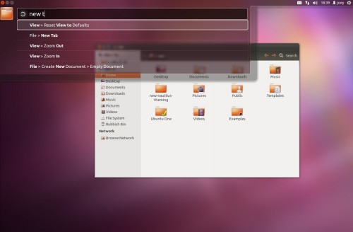 HUD Feature- Ubuntu 12.04 Beta 1