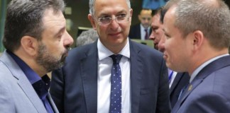 Minister of Agriculture in Brussels for the Agriculture and Fisheries Council