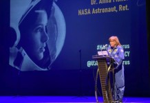The world does not seem to have borders from space, says astronaut Anna Lee Fisher