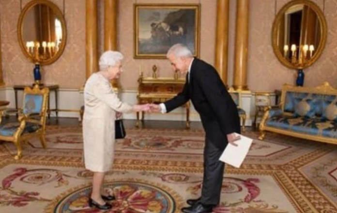 New High Commissioner to the UK briefs Queen Elizabeth