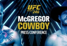 Key quote from the McGregor vs Cerrone press conference