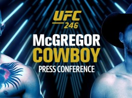 Key quote from the McGregor vs Cerrone press conference