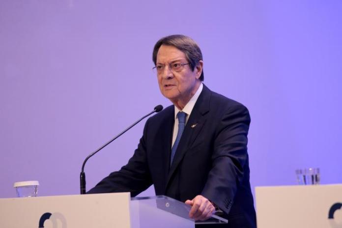 Τurkey seeks to implement an expansionist policy in the East Med region, Anastasiades says