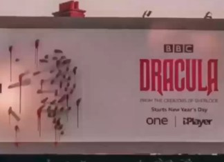 The clever ad campaign of 'Dracula'
