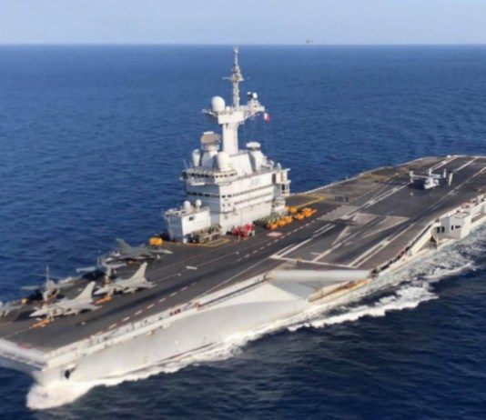 French aircraft carrier Charles De Gaulle to dock in Cyprus