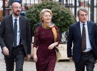 'A new dawn for Europe', an Op-ed article by Charles Michel, Ursula Von Der Leyen and David Sassoli