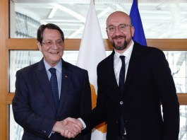 The Cyprus government welcomes the active involvement of the EU in efforts to solve the Cyprus issue, following the initiative of the President of the European Council, Charles Michel, to contact the UN Secretary-General, in order to discuss the block's contribution.