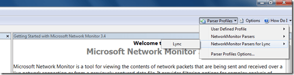 Network Monitor Parsers for Lync 2010 (1/2)