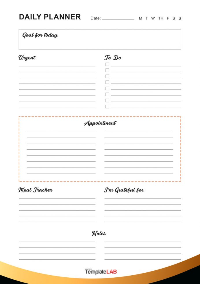 Just download the zip file and choose the version that best meets your needs, then type in your own information. Printable Aily Planner Templates Free In Wordexcelpdf Etailed Schedule Template Full Ay Preschool Detailed Daily