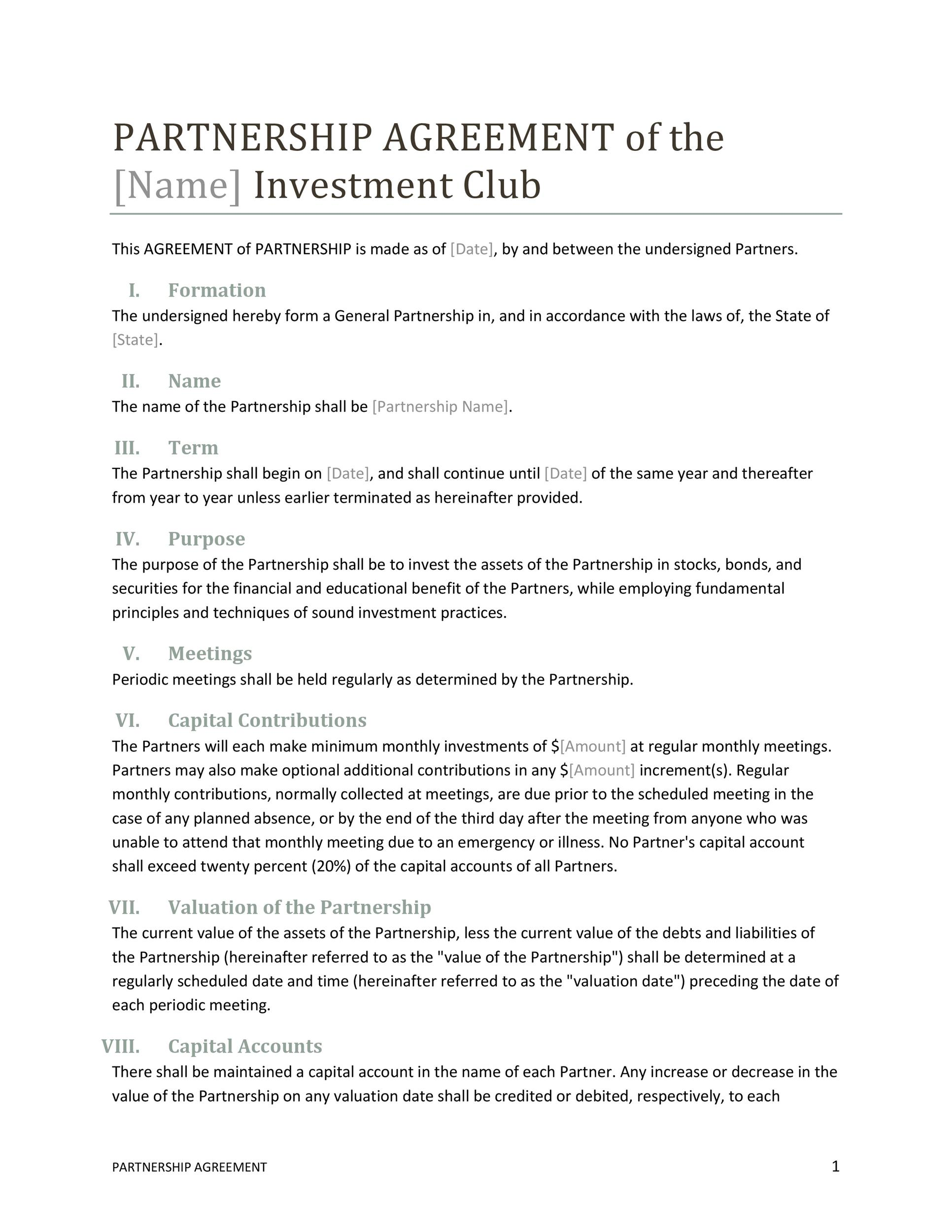 With the help of this agreement template in word , you can define the restrictions, terms, and conditions of … Collaboration Agreement Example Small Business Partnership Template Download