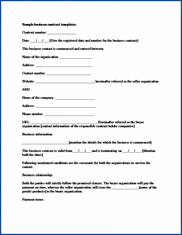 As such, it covers only those terms which are most necessary when creating a business partnership. Business Ract Termination Letter Example Small Forms Law Examples Partnership Template Free Partner Contract Agreement