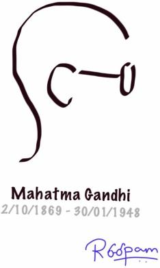 The Mahatma - by Roopam