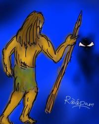 Prehistoric Man - by Roopam