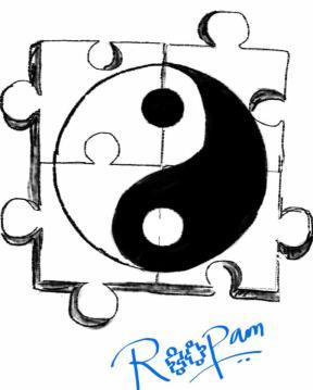 Ying Yang Jigsaw
