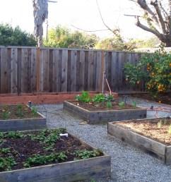 raised garden beds help retain water better than gardens planted in open soil  [ 2048 x 1536 Pixel ]