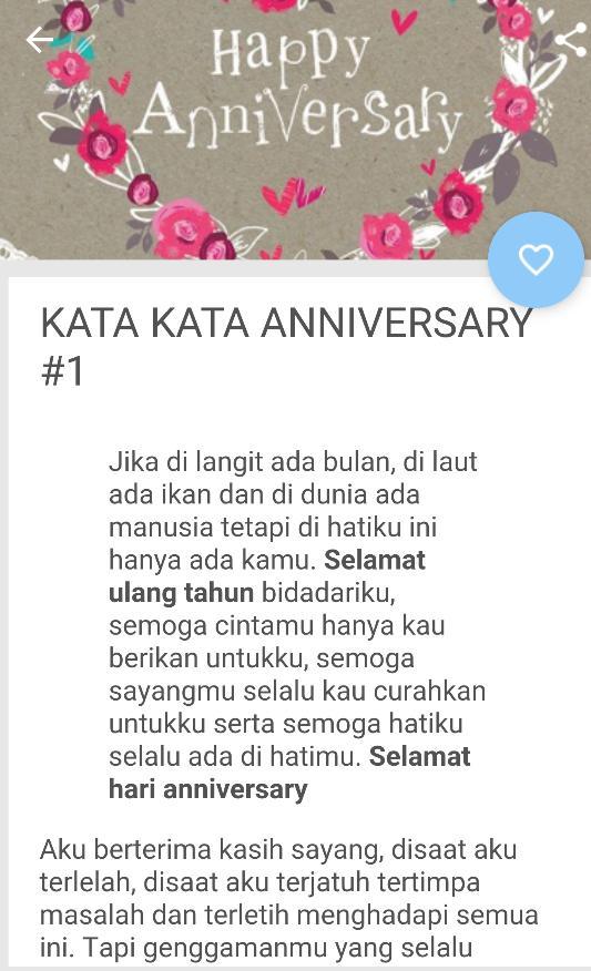 Kata Kata Ucapan Happy Anniversary Untuk Teman