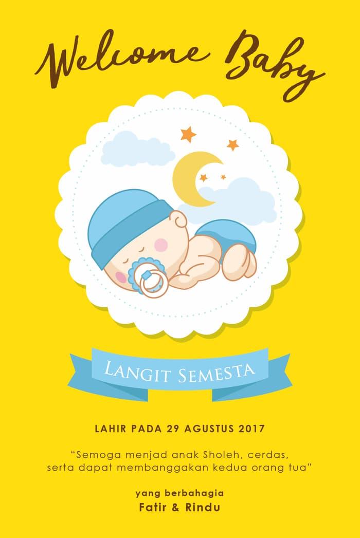 Background Kartu Ucapan Kelahiran Bayi Laki-laki : background, kartu, ucapan, kelahiran, laki-laki, Ucapan, Kelahiran, 655x446, Resolution