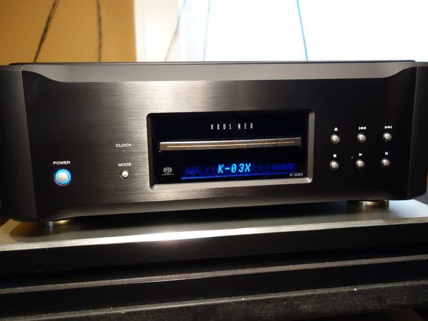 ESOTERIC K03X 30TH ANNIVERSARY BLACK | CD/SACD Players | Audiogon