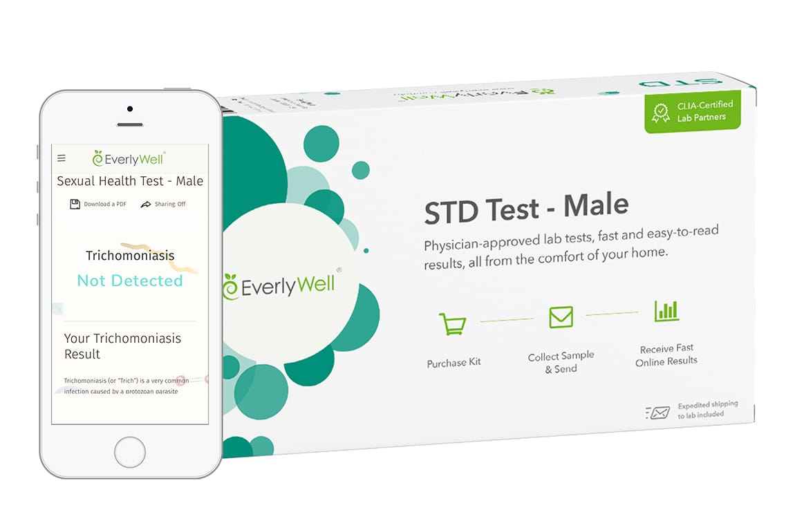 EverlyWell: At Home STD Test for Men - Results You Can ...