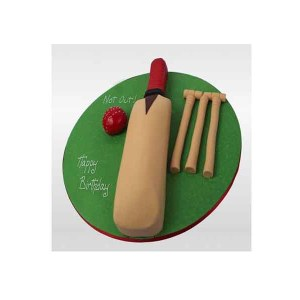 Designer Cricket Fan Cake