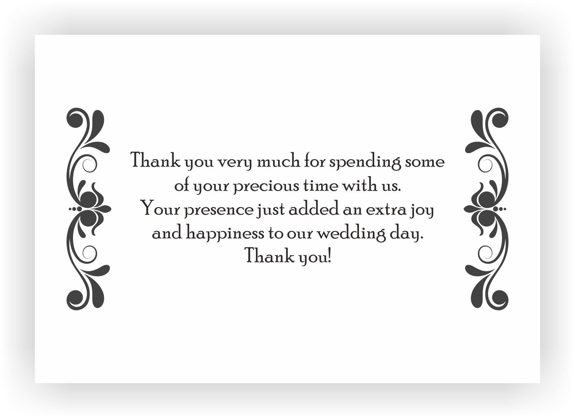 Thank You Message For Inviting Us To Your Wedding