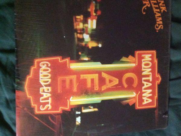 Hank Williams JR Montana Cafe Sealed LP Other Audiogon