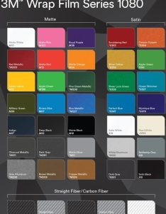 Colorchart  also  series wrap vinyl sun supply rh sunsupply