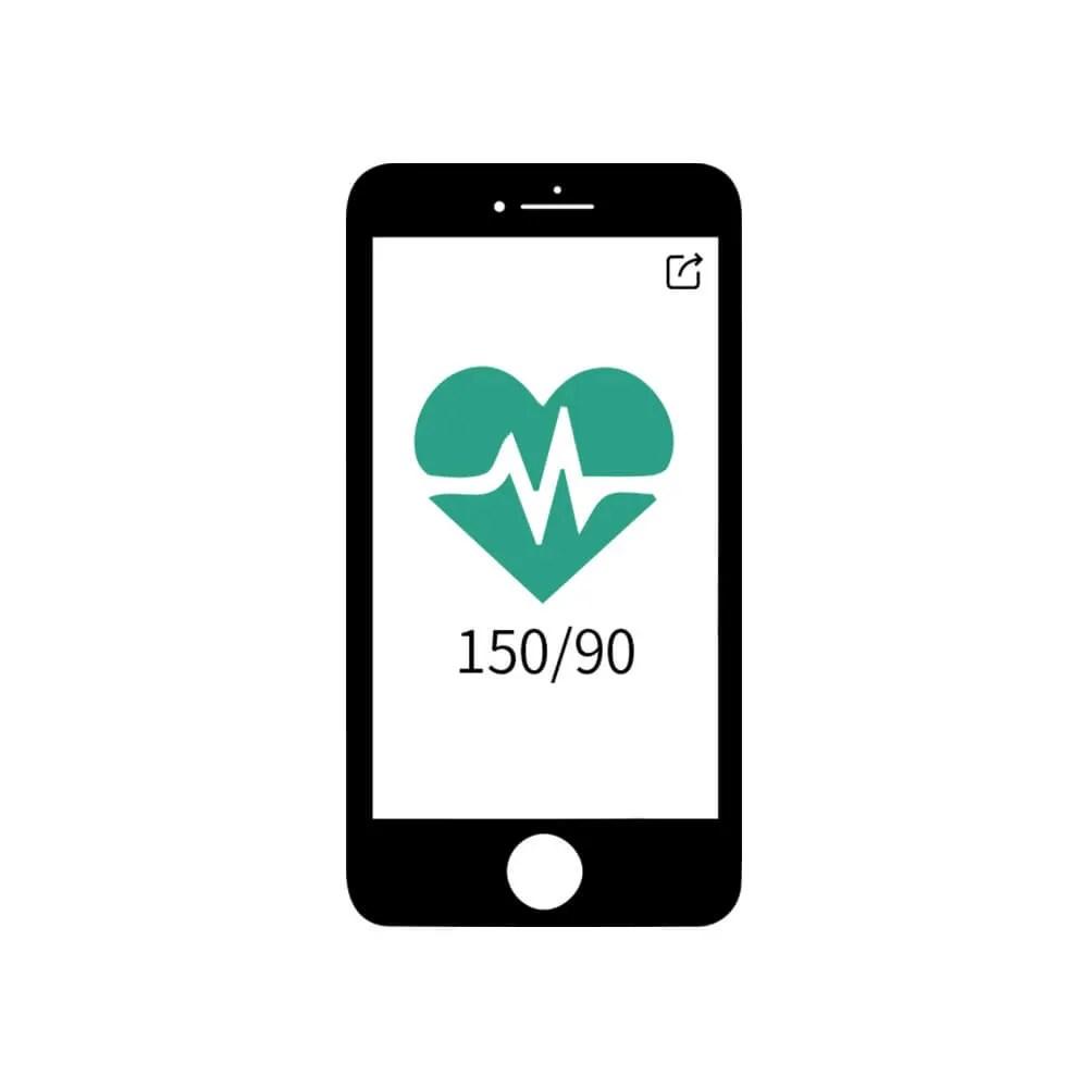 Wellue AirBP Digital Blood Pressure Monitor with Preformed