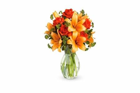 Orange Flowers Bunch