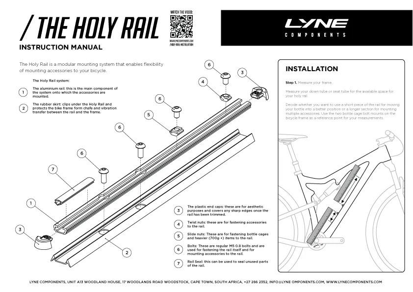 Holy Rail Triangle Storage Box Kit + Quick-Draw Multitool