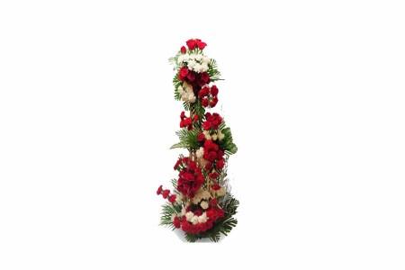 Roses & Carnations flowers Standing Arrangement