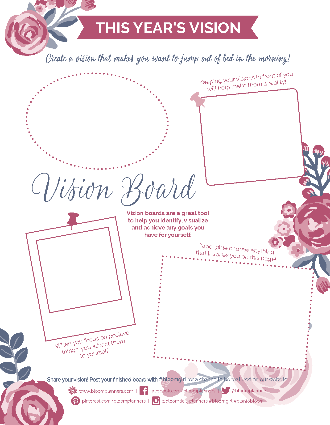 Monthly Printables Planner Free Finance