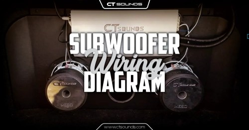 small resolution of subwoofer wiring diagram diagram
