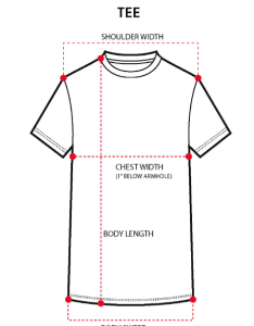Measure around the hem of garment for shirts with slits or round above slit curve also men   tops size guide penshoppe rh