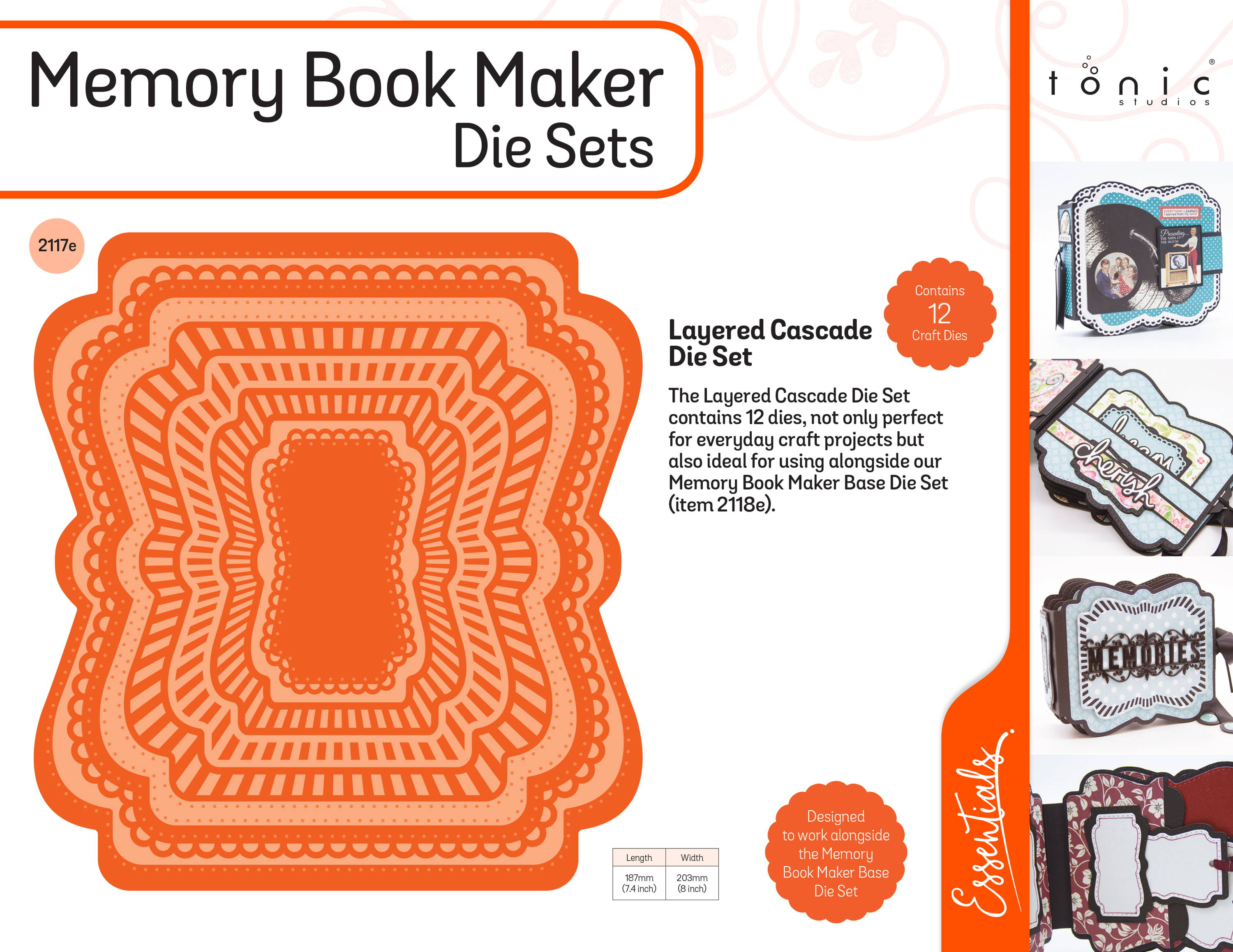 memory book maker die