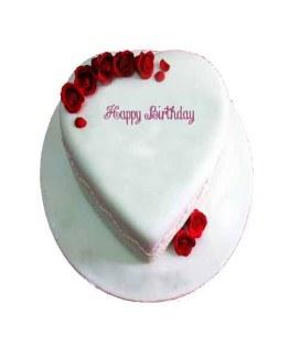Strawberry Heart shape Cakes