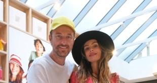I Facchinetty's presenti all'inaugurazione dello store Benetton