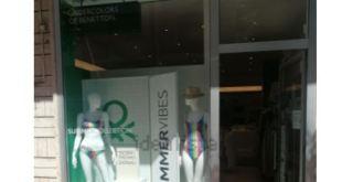 A Giulianova chiuso negozio Undercolors of Benetton