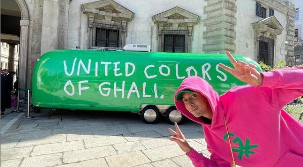 Il Rapper Ghali ambassador United Colors of Benetton