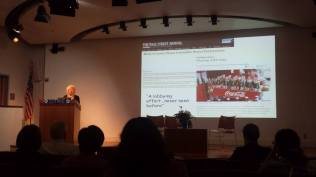 """Marion Nestle from NYU Global Institute of Public Health gave a great opening keynote on """"Global Nutrition: From Science to Politics."""""""