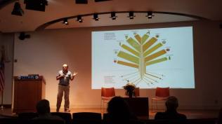 """Professor Miguel Alteri from the College of Natural Resources at UC Berkeley stressed the importance of maintaining traditional farming techniques in his """"Agroecology and Climate Change"""" talk."""