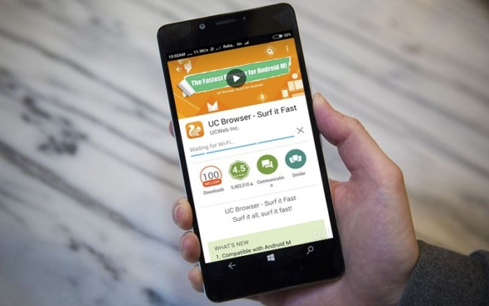 UC Browser again added in Play Store – UC Browser free download