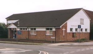The original build of the Cade Road Church.