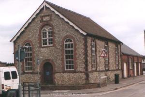 The former Methodist Church in Denmark Road.