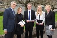 Prof. Ciaran Murphy, BIS UCC, Linda Ryan, Bank of Ireland, Ciaran Williams, Andrea Graham and Patricia Lynch, BIS UCC