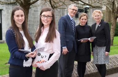 Laura Kent, Laura Hanover, Prof Ciaran Murphy, BIS UCC, Linda Ryan, Bank of Ireland, and Patricia Lynch, BIS UCC